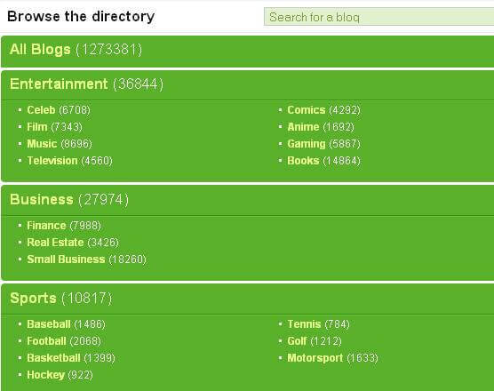 Technorati Blog Directory