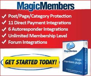 Magic Members WordPress Plugin