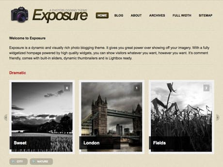 Exposure WooThemes