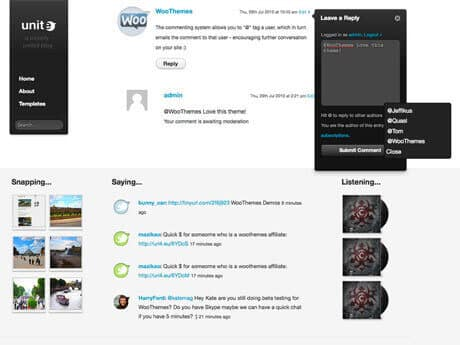 Unite WooThemes