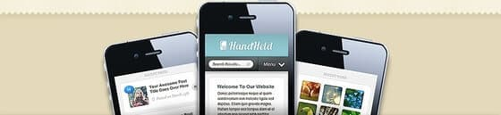 HandHeld Mobile WordPress Theme