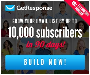 Try Getresponse for Free for the next 30 days