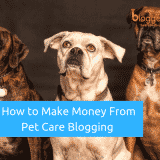 How to Make Money From Pet Care Blogging In 2019