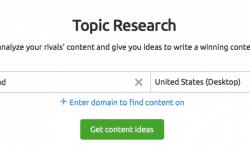 topic research semrush