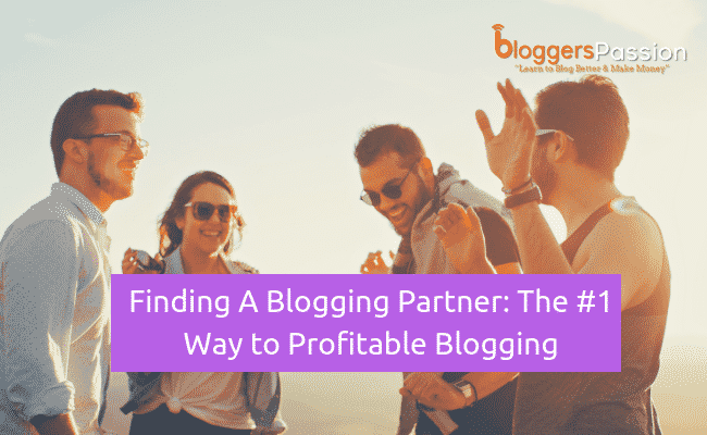 finding a blogging partner