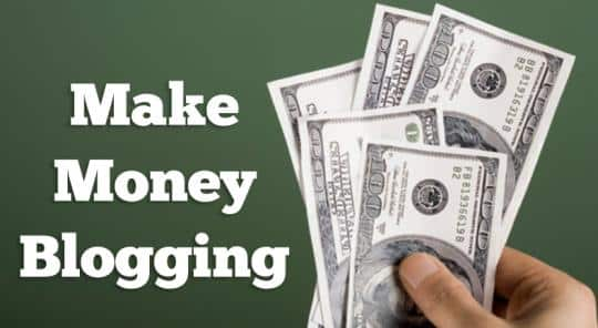 How to make money blogging guide for How to build a blog