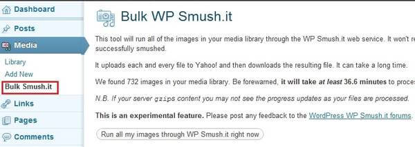 Bulk WP Smush.it Plugin