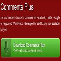Comments Plus Plugin