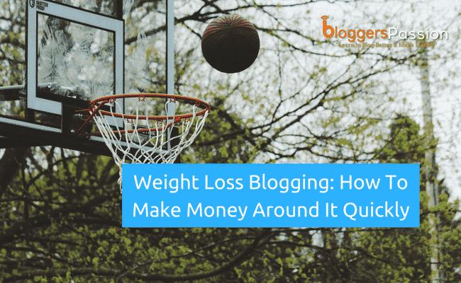 weight loss blogging