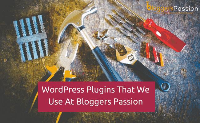 wordpress plugins at bloggers passion