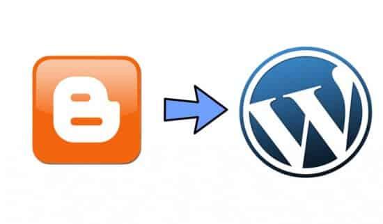 Blogger to WordPress Transition
