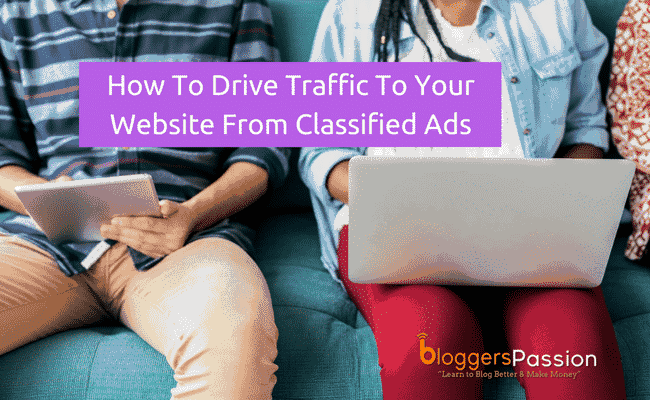 drive traffic from classified ads