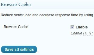 General Browser Cache