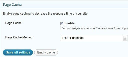 General page cache