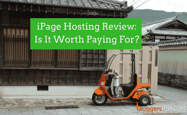 iPage hosting review