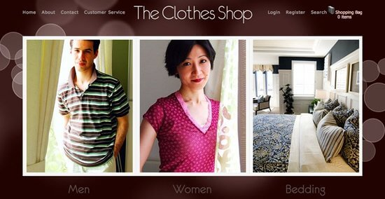 The Clothes shop