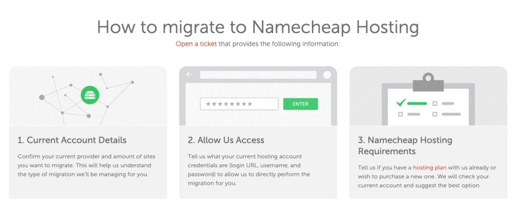 namecheap migrate