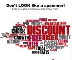Email Marketing Spam Triggering Words