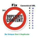 How to Fix Duplicate Content Issues in WordPress Blog?