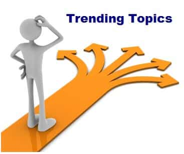Trending topic for your niche blog