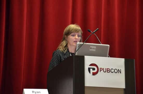 Ann Smarty at Pubcon