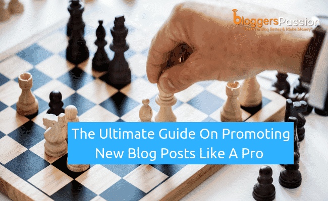 how to promote new blog posts