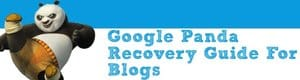 Google Panda Recovery Guide