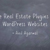6 Free Real Estate Plugins for WordPress Blogs