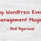 Eight WordPress Event Management Plugins