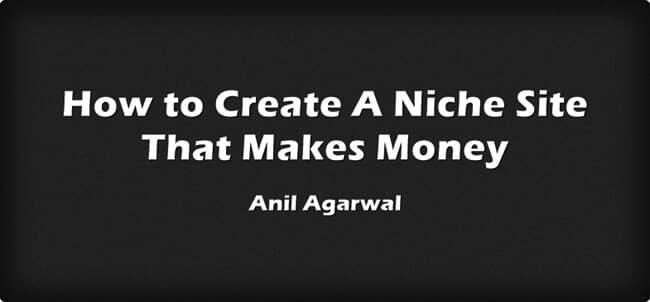 creating a niche site