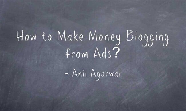 choosing ideal ads on blogs