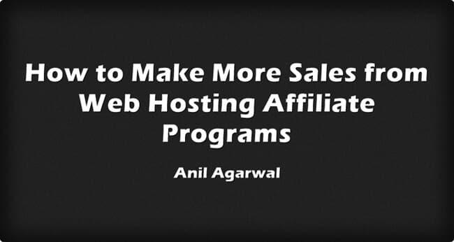 make sales web hosting