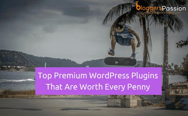 Top Premium WordPress Plugins 2018