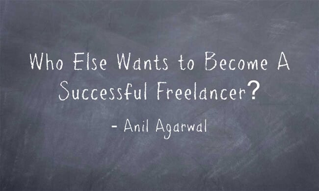 become successful freelancer
