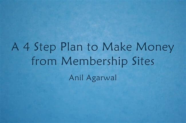 make money from membership sites