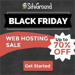SiteGround Black Friday 2017 Deal