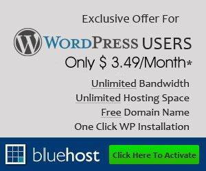 WordPress Web Hosting with BlueHost