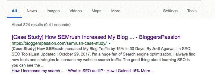 case study semrush