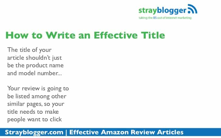 review tips