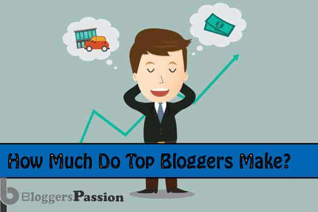 Bloggers monthly income report