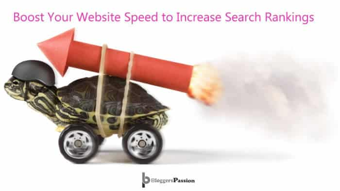 website speed impacts seo