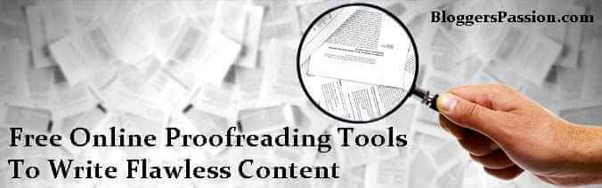 Online proofreading tools resume
