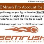 SEMrush Extensive Review With Screenshots: Grab Free SEMrush Pro Account for 30 Days