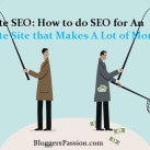 What Expert Bloggers Won't Tell You About Doing SEO for An Affiliate Website