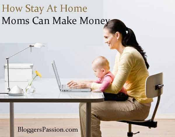 stay at home moms making money blogging