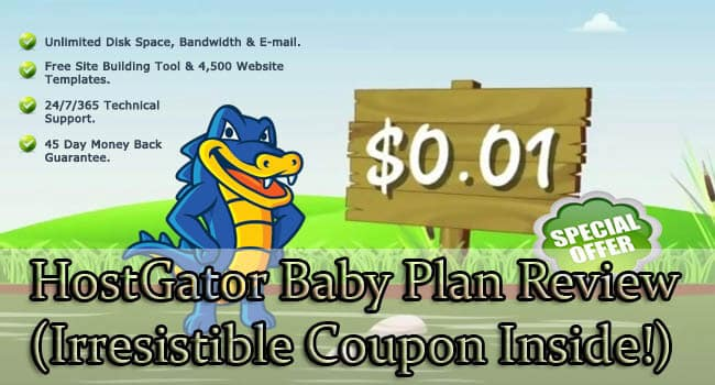 hostgator baby plan review