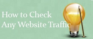 Tools to find traffic to a website