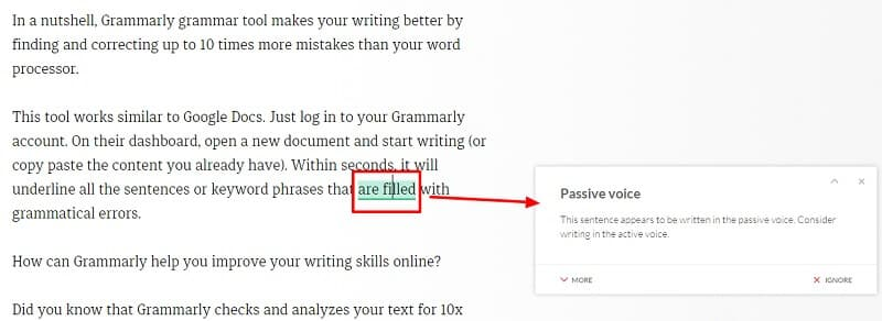 Grammarly test