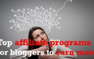 Top 10 Highest Paying Affiliate Programs for Bloggers And Marketers
