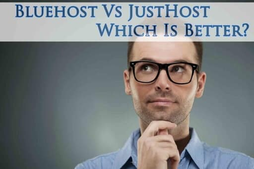 bluehost vs justhost review